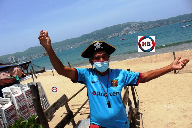 La triste y alentadora historia de un aficionado azulgrana en Acapulco.