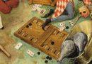 """El juego de backgammon en """"el triunfo de la muerte"""": azar y Covid-19."""