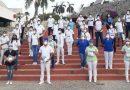 Estudiantes de la UAGro participan en vacunación contra el Covid-19.