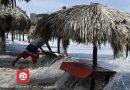 No habrá lluvias, pero sí fuerte oleaje en las playas: Protección Civil.