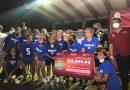 Morelos B se corona en competencia de futbol femenil municipal.